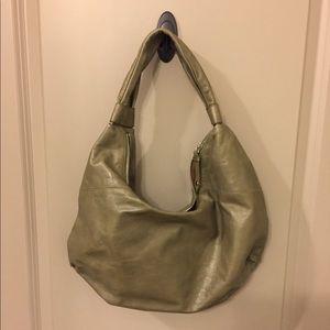 EUC Hobo International olive green shoulder bag